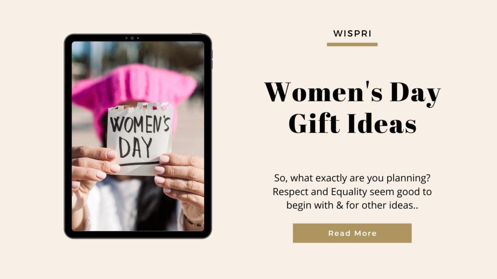 Women's Day Gift Ideas- 2021