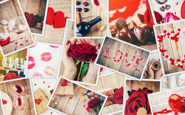 Hand made gifts on valentine's day