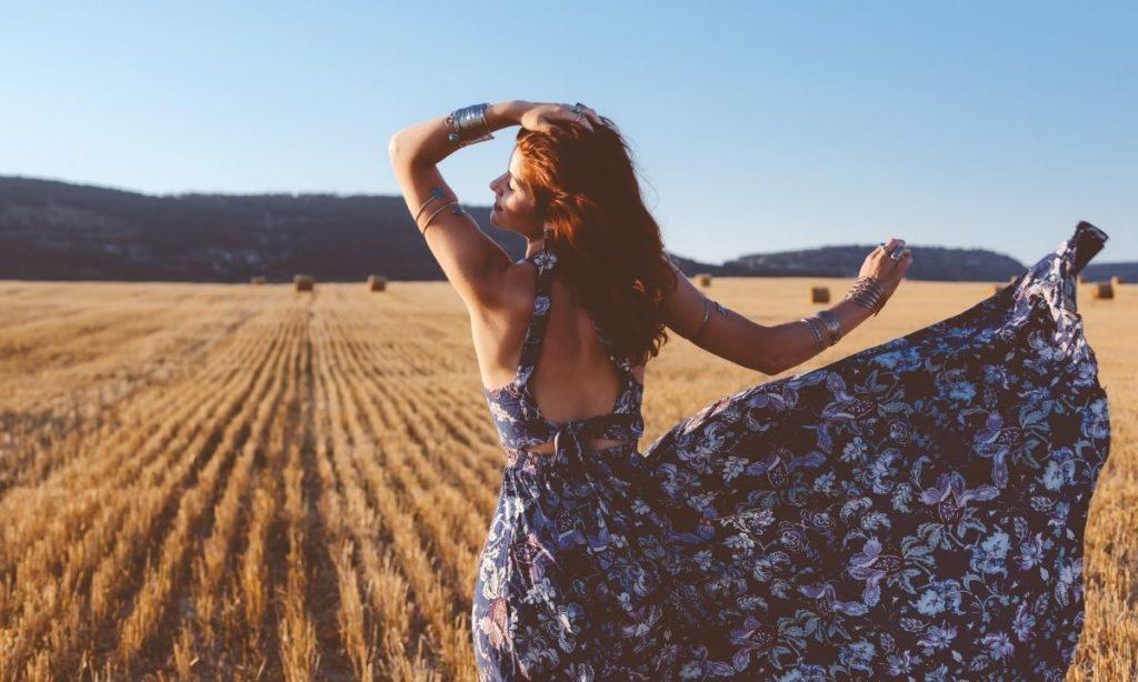best summer dresses- a blowy maxi dress