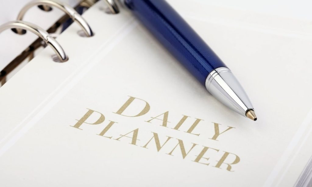 coworker gift ideas- daily planner