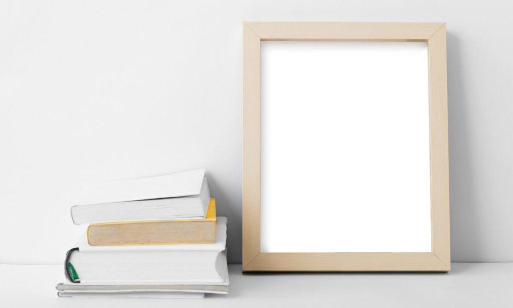 coworker gift ideas- desk frame