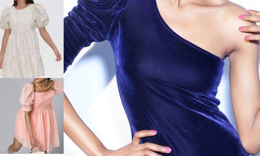 best summer dresses- puff shoulder smocked dress