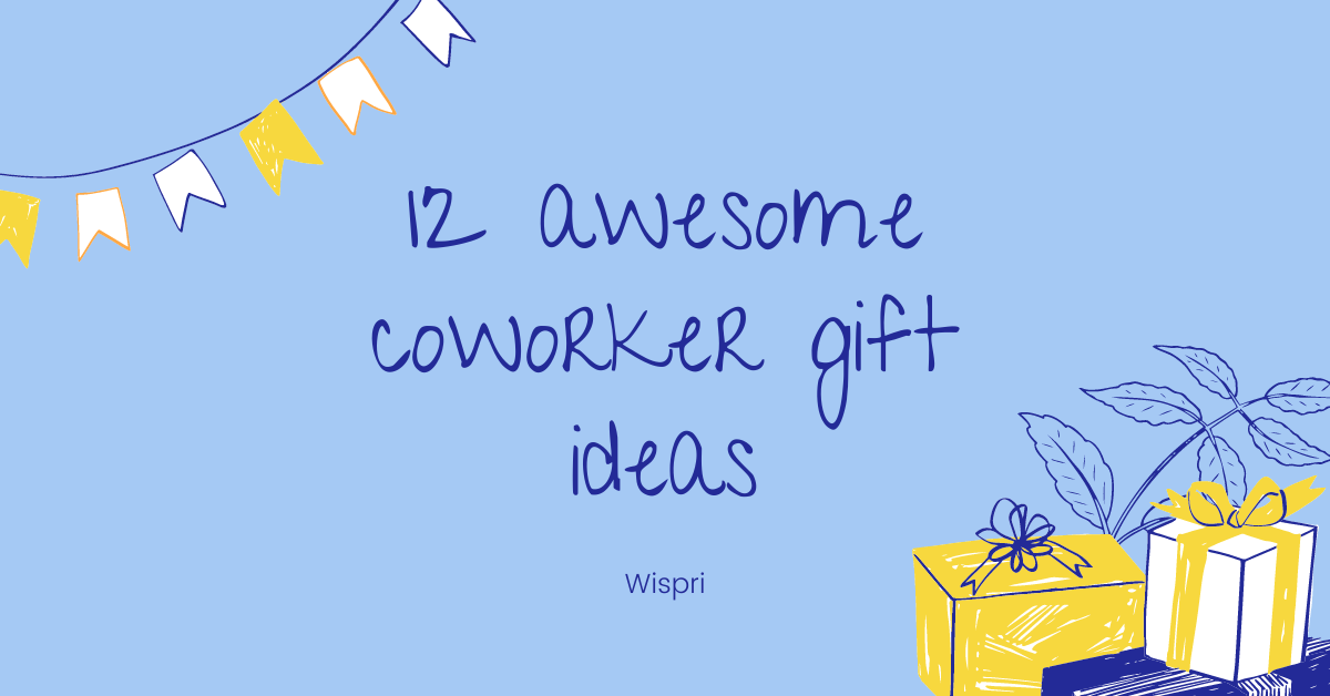 coworker gift ideas, office gifts, gifts for co-workers