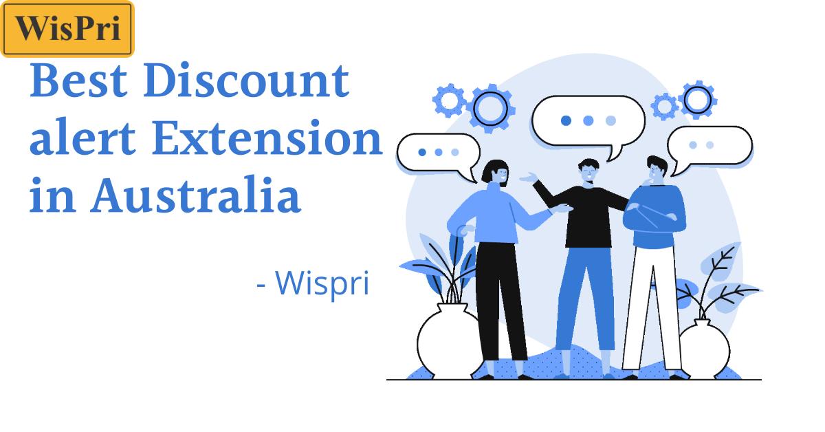 best discount alert extension in Australia